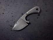 Custom neck knife 114