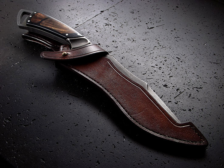 Custom Recurve Knife 119