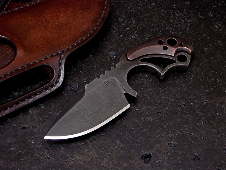 Custom Fixed Blade Knife 149