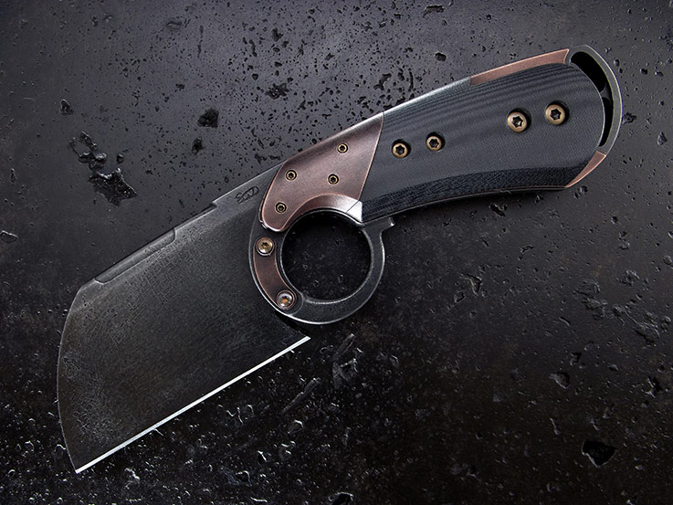 Custom Cleaver  Knife 251