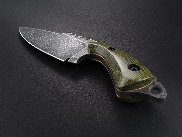 Custom Fixed Blade Knife 324