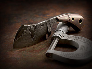 Custom Neck Knife Cleaver 385