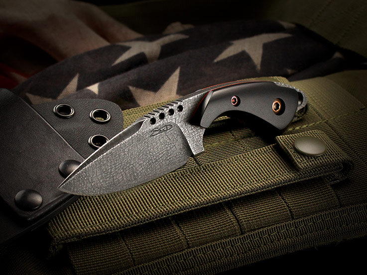 Custom fixed blade knife 397